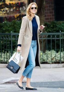 镶皮羊绒大衣,如何预防干洗染色?