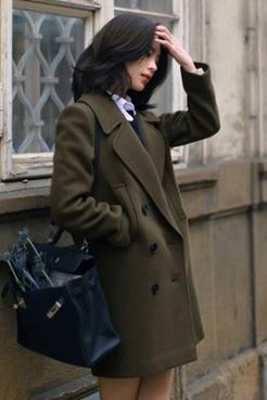 |穿搭|如何鉴别双面呢大衣的品质好坏?