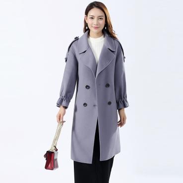 """做有品位的女人:""""双面大衣""""让你更精优雅、更高级!"""